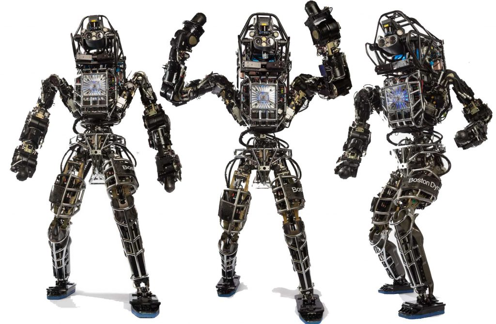 Robotermodell Atlas (Foto © Boston Dynamics)