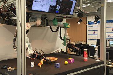 Roboter im CITEC der Uni Bielefeld