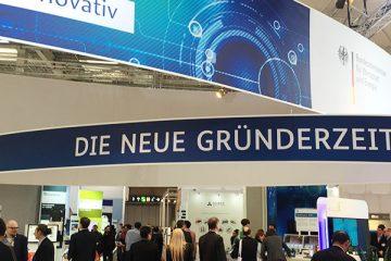 Die neue Gründerzeit - Stand des BMWi auf der CeBIT 2016