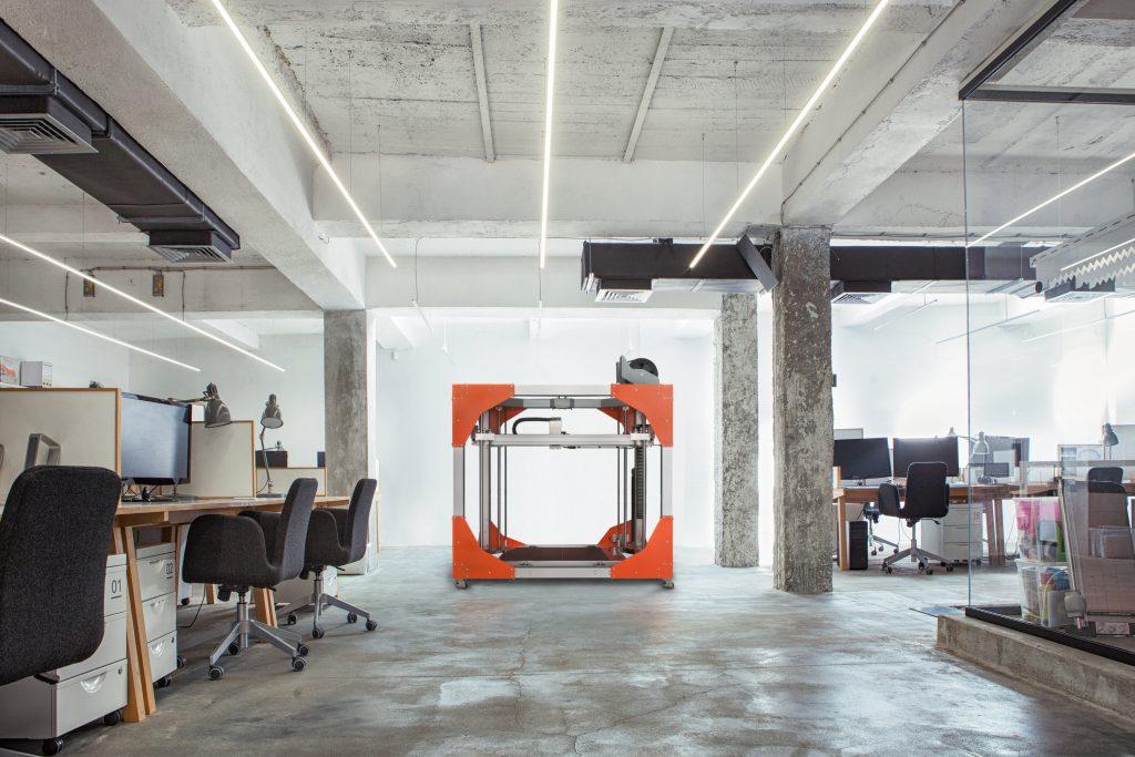 BigRep ONE ist der größte zurzeit auf dem Weltmarkt erhältliche FFF-Drucker (Foto © BigRep)