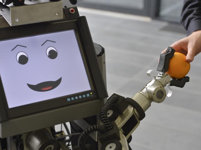 Serviceroboter Tobi (Foto © CITEC/Universität Bielefeld)