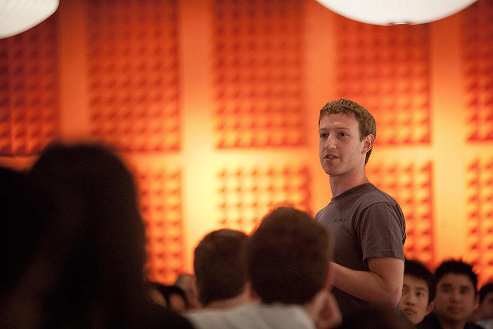 Mark Zuckerberg zu Gast beim Y Combinator