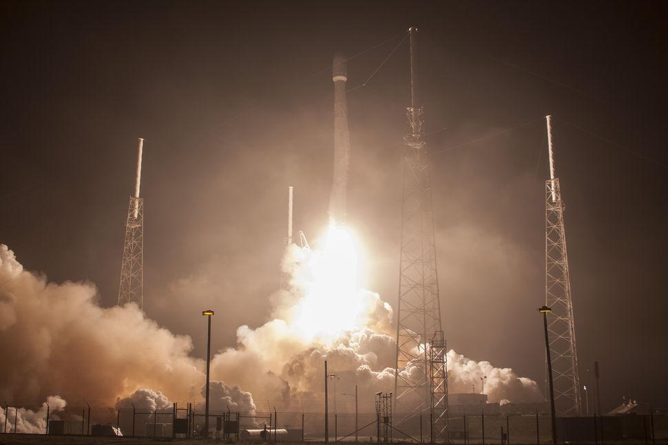 Start einer Falcon 9, der erfolgreichsten Rakete von SpaceX (Foto: Space X)