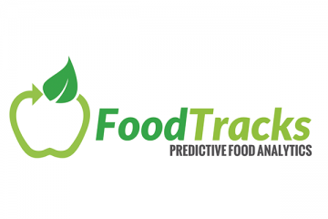 FoodTracks - Predictive Analytics & Big Data Startup Logo