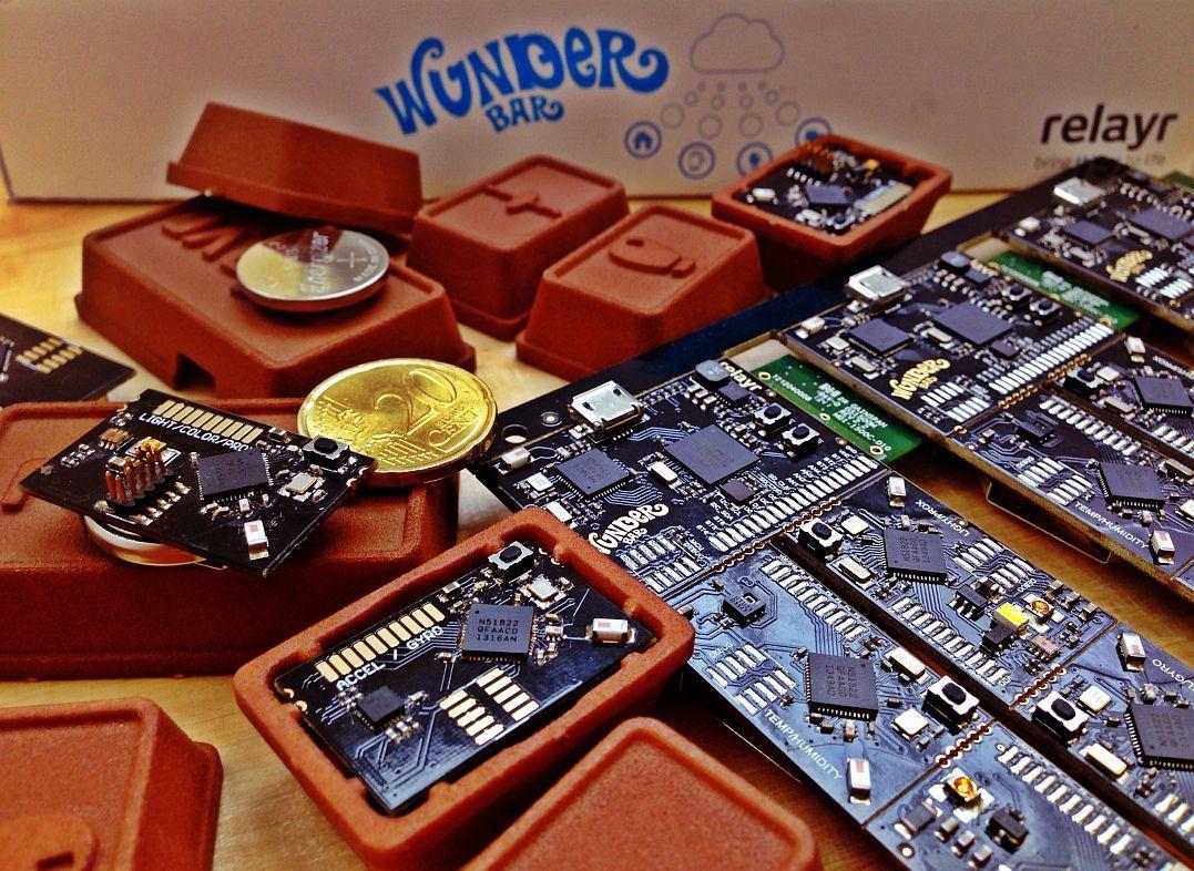 Sensoren im Schokoladendesign - das ist WunderBar von relayr.