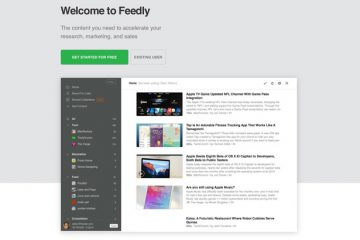 Feedly RSS Feeds Reader Screenshot