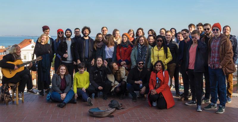 Blinkist Team in Lissabon