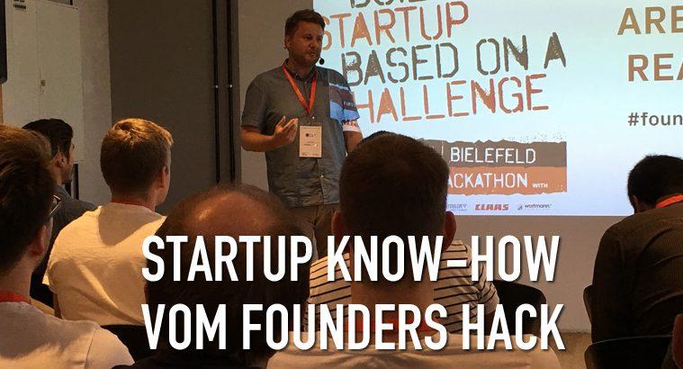FoundersHack Lasse Chor Insutrie Hackathon