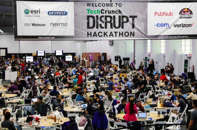 24h Hackathon bei der TechCrunch Disrupt