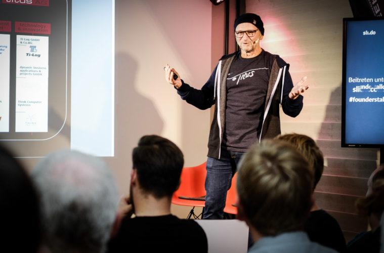 Titus Dittmann - Mut ist wenn mans trotzdem macht - Founders Talk