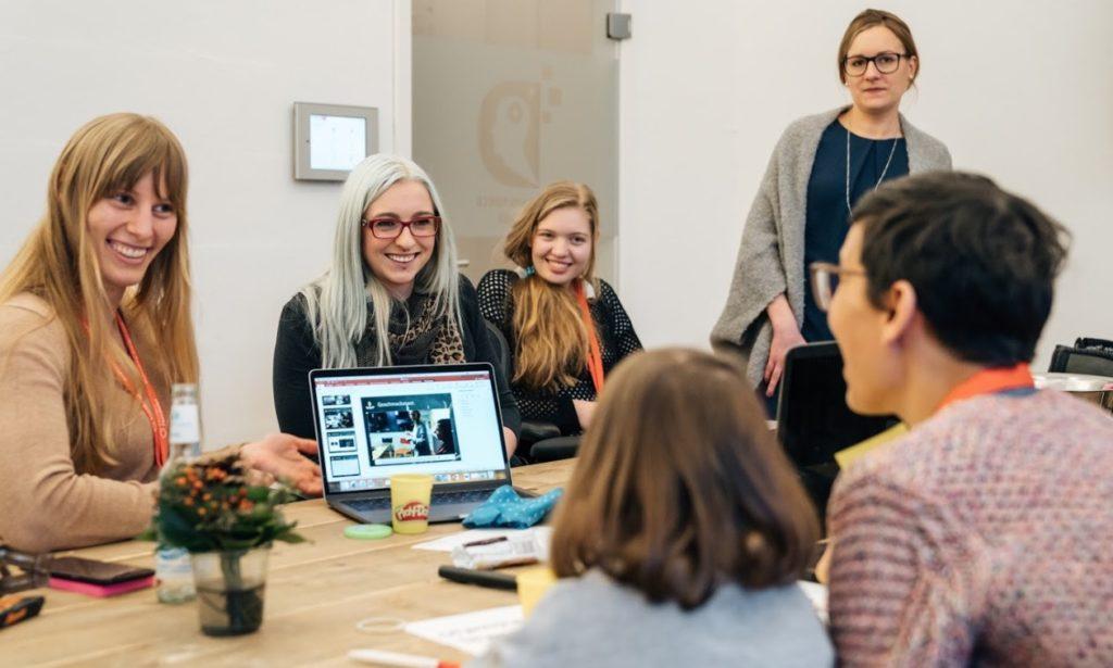 Mentoring Kokoro at Startup Weekend Women OWL
