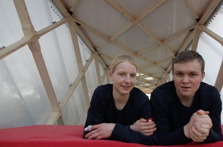 Tech TIny House Team Brendan und Sina