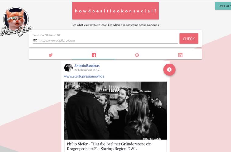 social pilcro darstellung