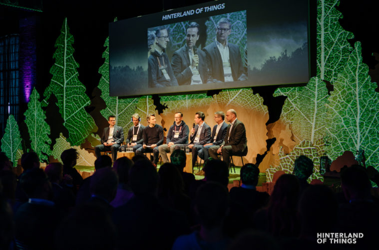 Startups und Corporte Hinterland of Things Panel