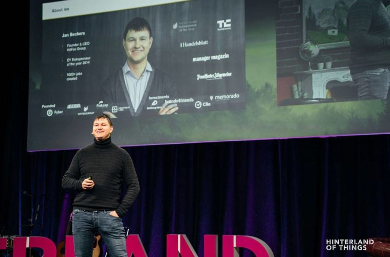 Jan Beckers Founder Insights von Hinterland of Things