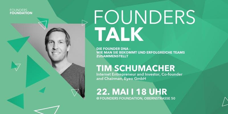 Founders Talk | Die Founder DNA – wie man sie bekommt und erfolgreiche Team…